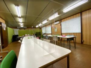 新型コロナウイルス感染症対策。対面式の企業の会議室や食堂にもオススメ!