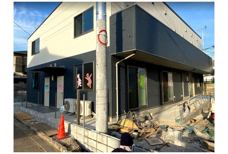 放課後デイサービスのウインドウサイン(神奈川県横浜市)