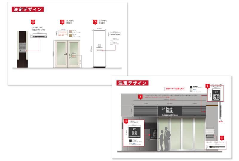 東京都仏具店のサインプラン さいたまの看板屋